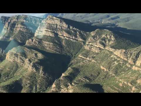 Spectacular Wilpena Pound Scenic Flight late in the afternoon
