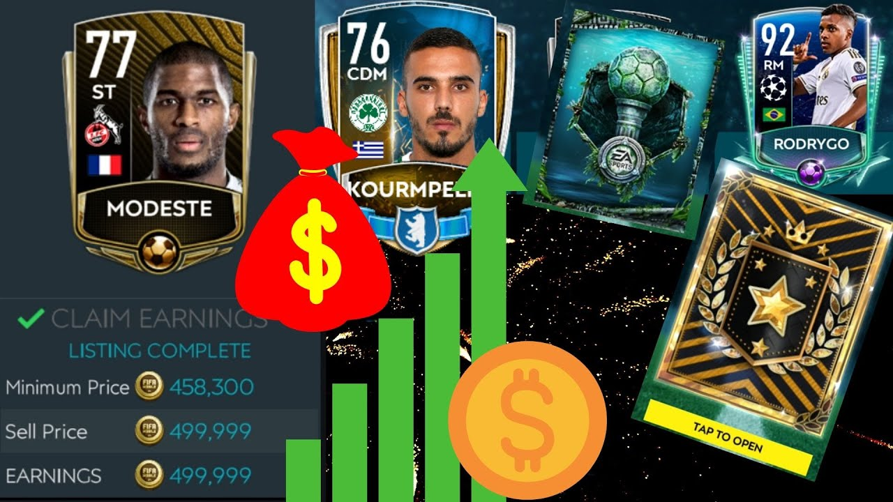 Fifa Mobile 20 l From 0 to 30M coins! Ep3 - We did it! 180M Coins 💲 + BIG Pack Opening!