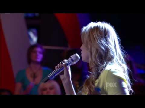 Janell Wheeler's Final 'American Idol' Performance -- Elimination