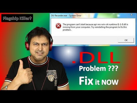 How To Fix DLL Missing Problem | Api-ms-win-crt-runtime-l1-1-0.dll | Easy Steps