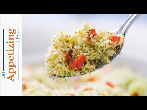 Riced Cauliflower And Broccoli
