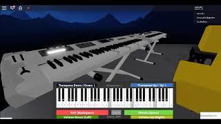 AVENGERS - INFINITY WAR (ROBLOX PIANO)