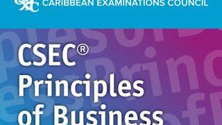 CSEC Principles of Business:SECTION 8: BUSINESS FINANCE (Part 1)