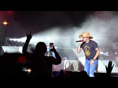 Jason Aldean On Las Vegas Mass Shooting That Killed 50: 'It Hurts My Heart'