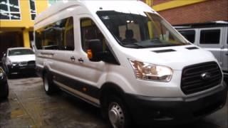 DISAUTO FORD TRANSIT BUS 18 PASAJEROS NUEVO SOLO 39 KILOMETROS 2015