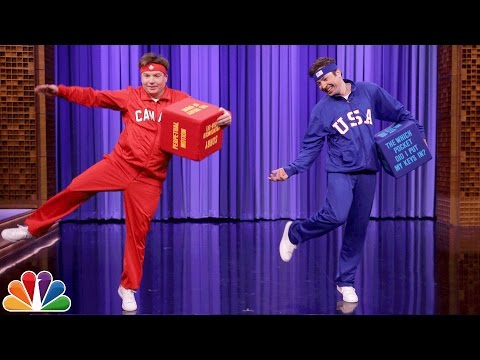 Thumbnail: Mike Myers and Jimmy Have a Dice Dance-Off