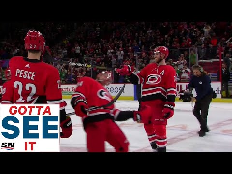 GOTTA SEE IT: Carolina Hurricanes Breakout The Limbo For Pos