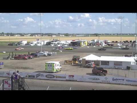 Red River Valley Speedway 07/17/2016 - IMCA Hobby Stocks Heat 2