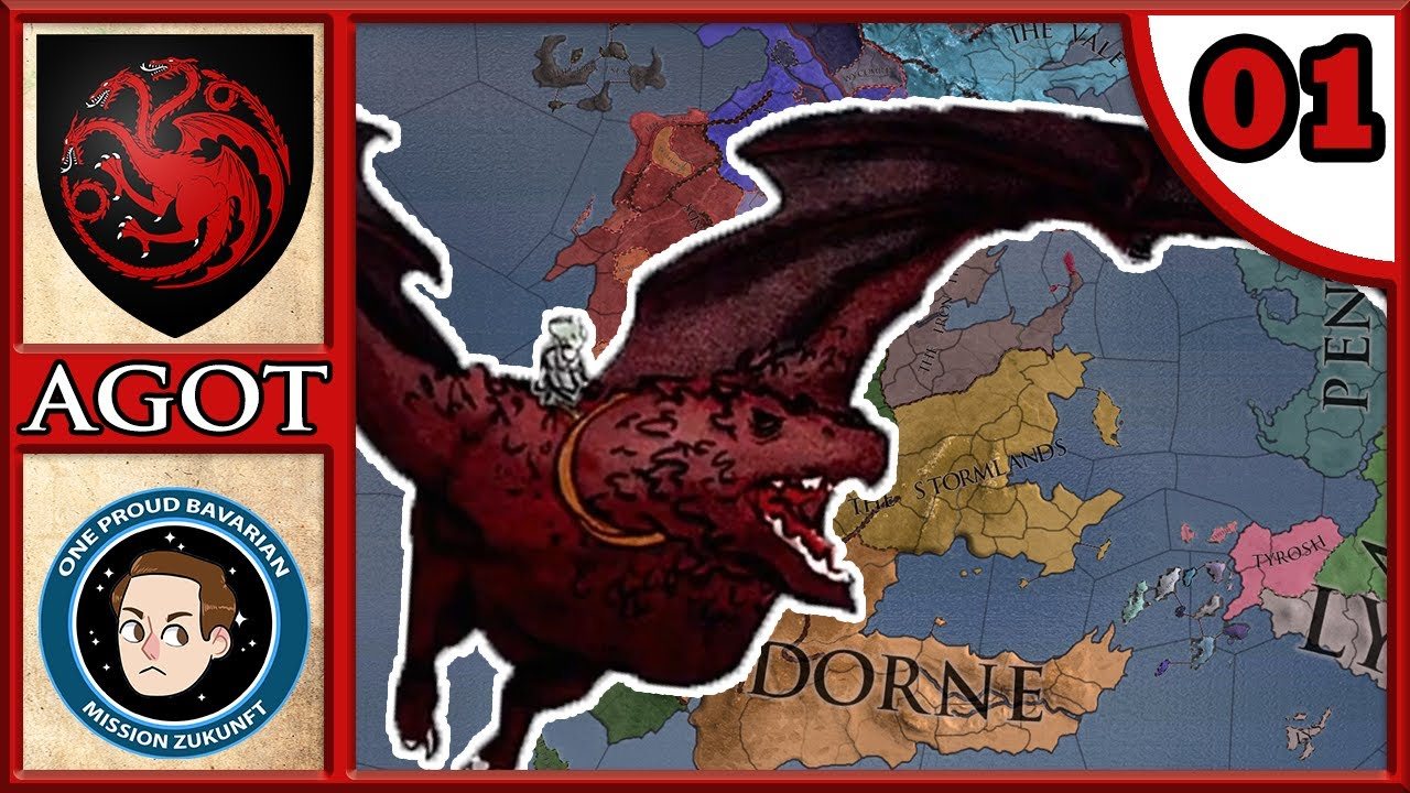 CK2: Holy Fury - AGOT #1 - The Rogue Prince - Daemon The Bored