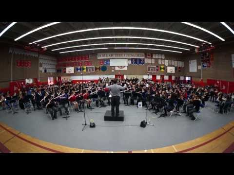 CISVA Junior Band 2013 -  Maritime March