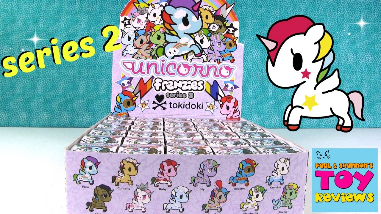 Tokidoki Unicornos Frenzies Series 2 Blind Box Opening