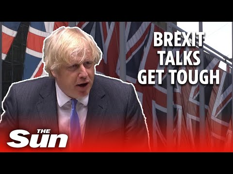 UK threatens to walk away from Brexit talks & 'could break Withdrawal Agreement'