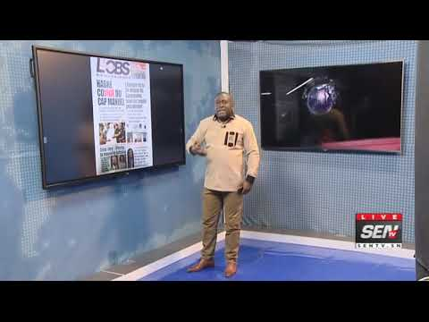 La Revue des titres avec Fabrice Nguema du mardi  7 Avril 2020