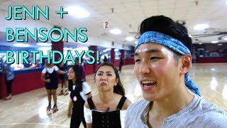 Wong Fu BIRTHDAY Weekends! ft. Jenn, Benson, Jrodtwins