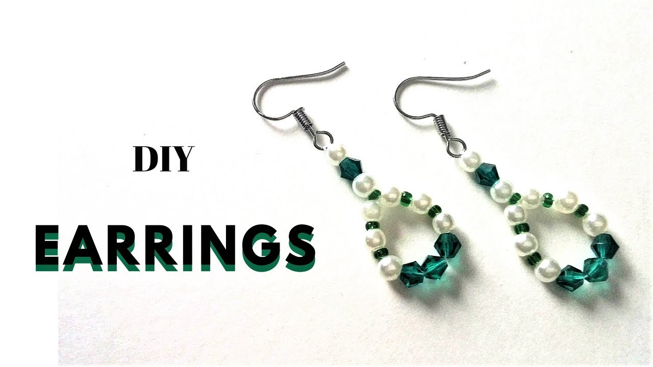 a dangle earrings mess diy beautiful pi earring pearl