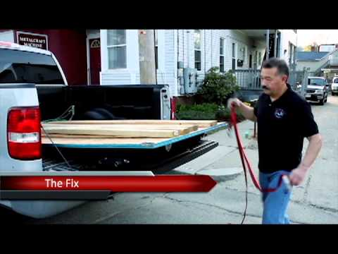 The Load Master Pickup Truck Load Securing System Youtube