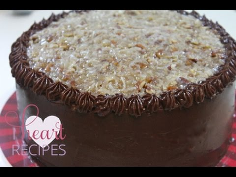 BEST German Chocolate Cake Recipe Moist Chocolate Cake I Heart