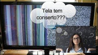 Consertar tela de TV é possível?