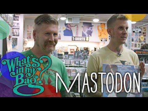 Mastodon - What's In My Bag?