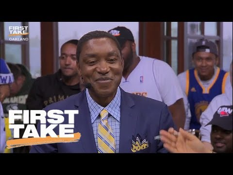 Stephen A. Smith Calls Isiah Thomas' Comments Blasphemous | First Take | June 12, 2017