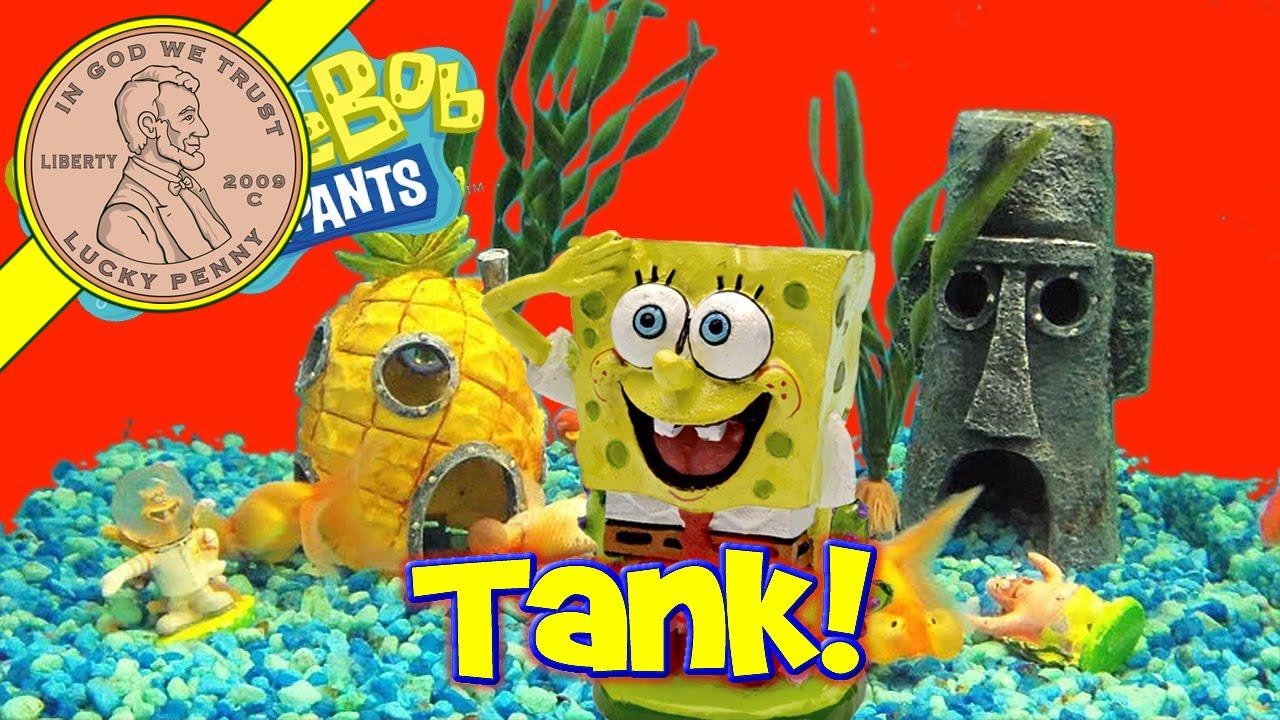 spongebob 39 s bikini bottom electronic underwater world fish. Black Bedroom Furniture Sets. Home Design Ideas