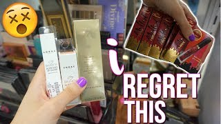 WHAT HAPPENED at TJ MAXX?! BUDGET BEAUTY BUYS | HIGH END MAKEUP FOR CHEAP!
