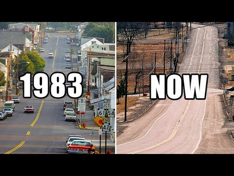 Centralia Burning Ghost Town - Pennsylvania USA