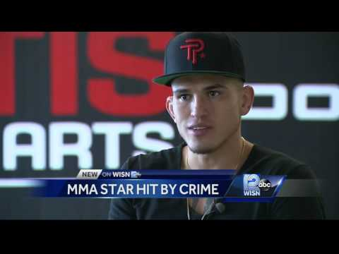 MMA's Pettis on Milwaukee: 'I can't leave this place'