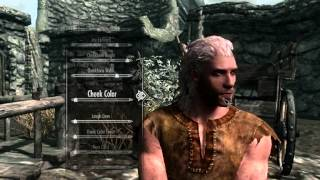 Skyrim Characters (Updated) - Handsome Male Nord stats