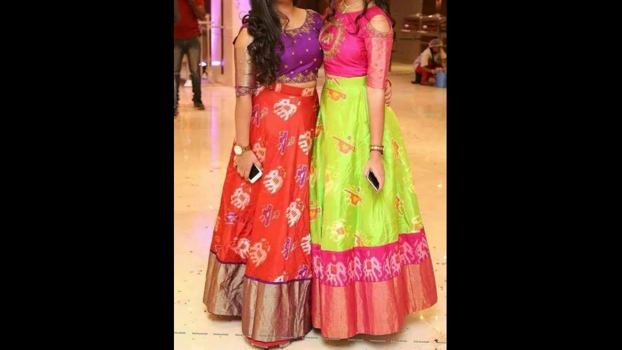 Ikkat Lehengas Online Pictures To Pin On Pinterest Thepinsta