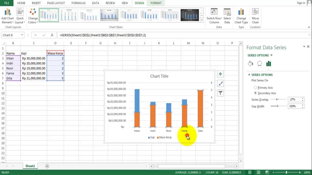 Cara membuat grafik dua sumbu vertikal ms excel bag 1 combo youtube cara membuat grafik dua sumbu vertikal ms excel bag 1 combo ccuart Gallery