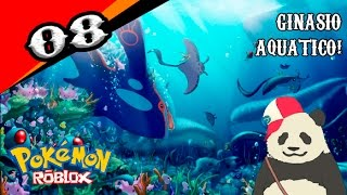 Pokemon Brick Bronze Roblox #08-Water Gym!!! Puzzles