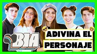 El elenco de 'BIA' de Disney Channel juega a adivinar el personaje, edición youtubers e influencers