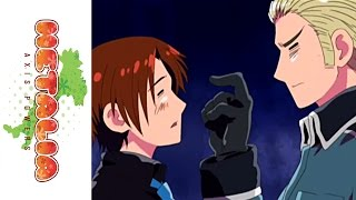Hetalia: Axis Powers on DVD 9/14/10 - Italy and Germany - Episode Clip 2