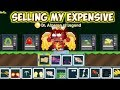 Selling All My Expensive Items P.t3 ( Finally 5000 Dls ) | GrowTopia