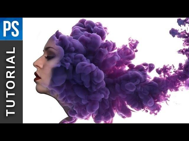 Photoshop Tutorial: Powerful Ink, Smoke Portrait