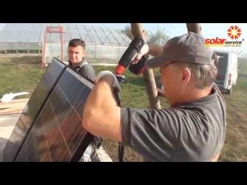 Wind Hybrid System + PV solar panels
