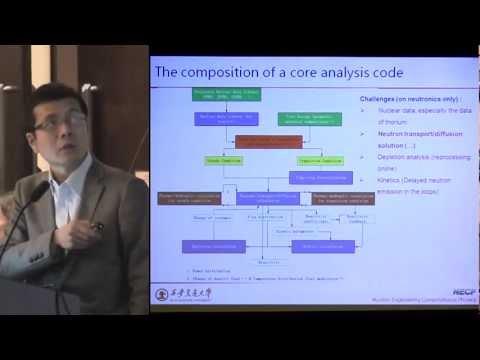 Youqi Zheng - Code for Analysis of Molten Salt Reactor @ ThEC12