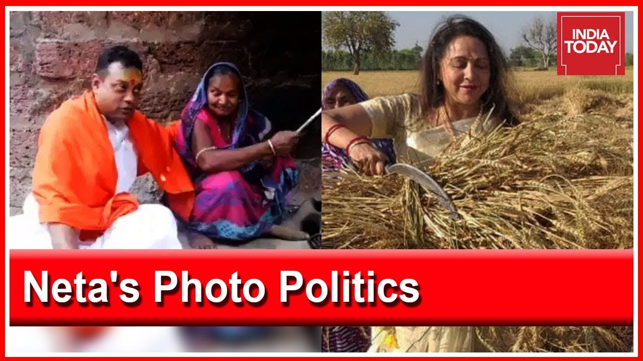 Sambit Patra, Hema Malini Trolled On Twitter Over Photo Politics During Election Season