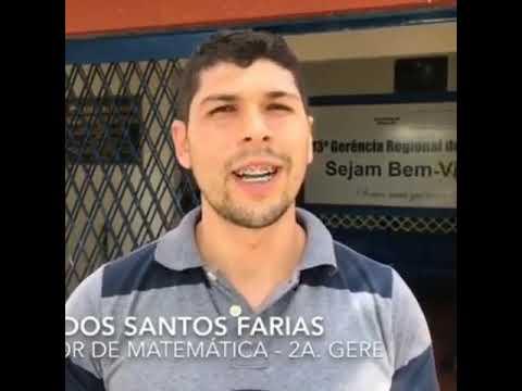 Depoimento do Professor de Matemática 2 Gere de São Miguel dos Campos