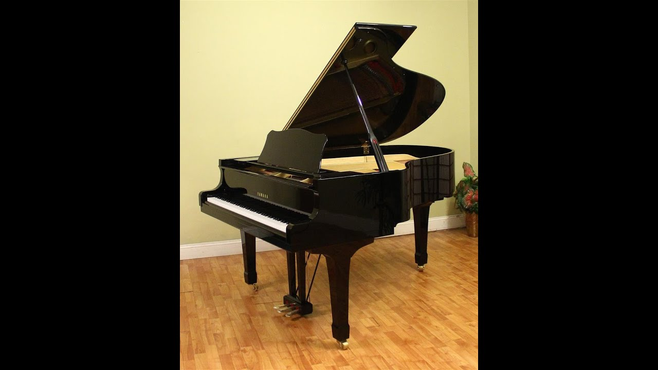 yamaha c3 6 39 1 39 39 grand piano four star reconditioned youtube. Black Bedroom Furniture Sets. Home Design Ideas