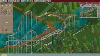 RollerCoaster Tycoon Deluxe - Leafy Lake [HD] (Hasbro Interactive) (1999/2002)