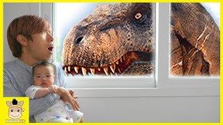 Dinosaur Playground Jurassic World Fallen Kingdom Toys T-Rex & Toy Dinosaurs | MariAndKids Toys