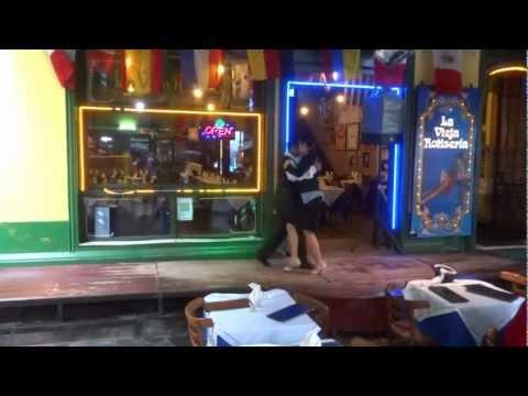 Argentine - Buenos Aires - via Caminito tango