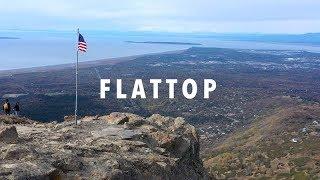 Hiking Flattop, Glen Alps Trailhead