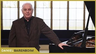 Daniel Barenboim - Welcome to my channel