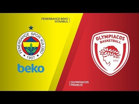 Fenerbahce Beko Istanbul - Olympiacos Piraeus Highlights | Turkish Airlines Euro