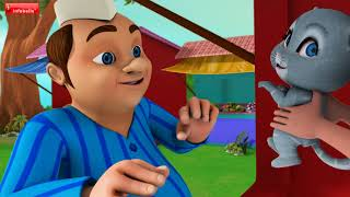 Lalaji aur Idur   Bengali Rhymes for Children   Infobells