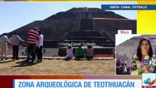 Equinoccio De Primavera En La Zona Arqueológica De Teotihuacán Video