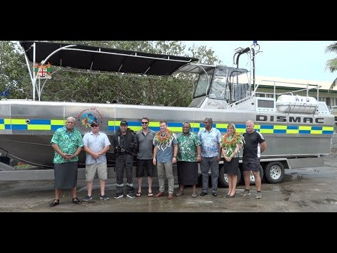Fijian PS for Rural & Maritime Development receives Rapid Response Boat from NZ High Commission